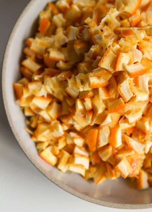 orange pieces